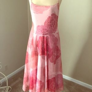 BCBG Max Azria Poppy pink tulle gown